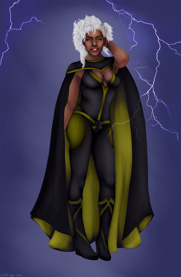 Storm from X men by LeeMinKyo