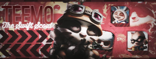 Teemo, The Swift Scout (Facebook Cover)