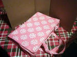 Quilted large Bible Cover with a Zipper by Lilmizflashythang