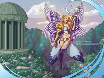 Goddess of victory by tavisharts