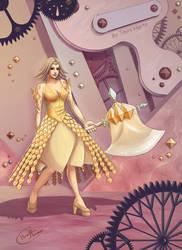 Queen of diamonds redone by tavisharts
