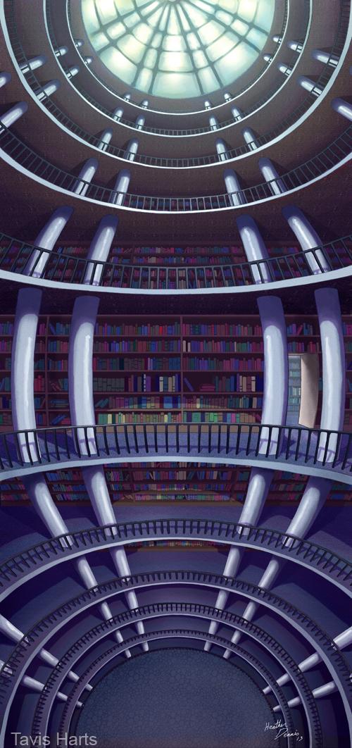 library drop by tavisharts