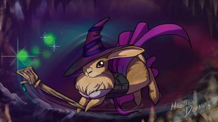 sorceress bunny