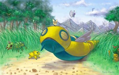 Dunsparce and cutiefly
