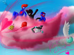 Pegboard nerds~ Pink Cloud