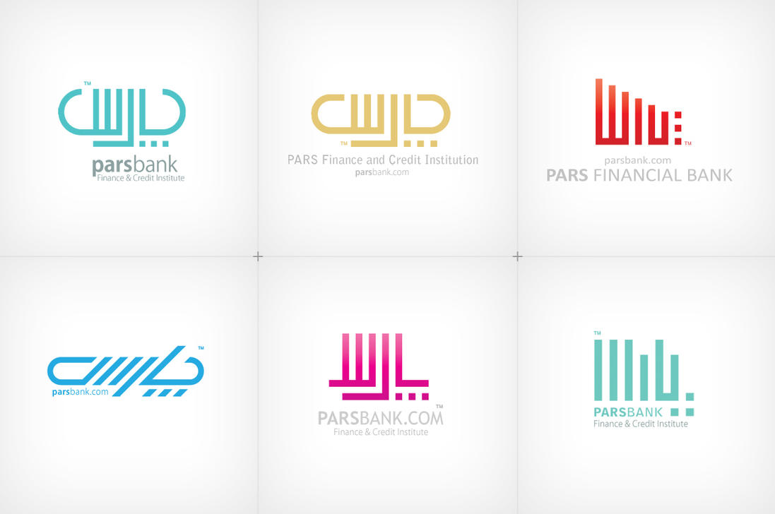 Pars Bank -farsi logotypes- by Vahitman