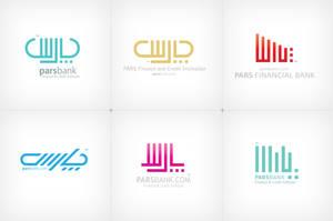 Pars Bank -farsi logotypes- by Vahitman