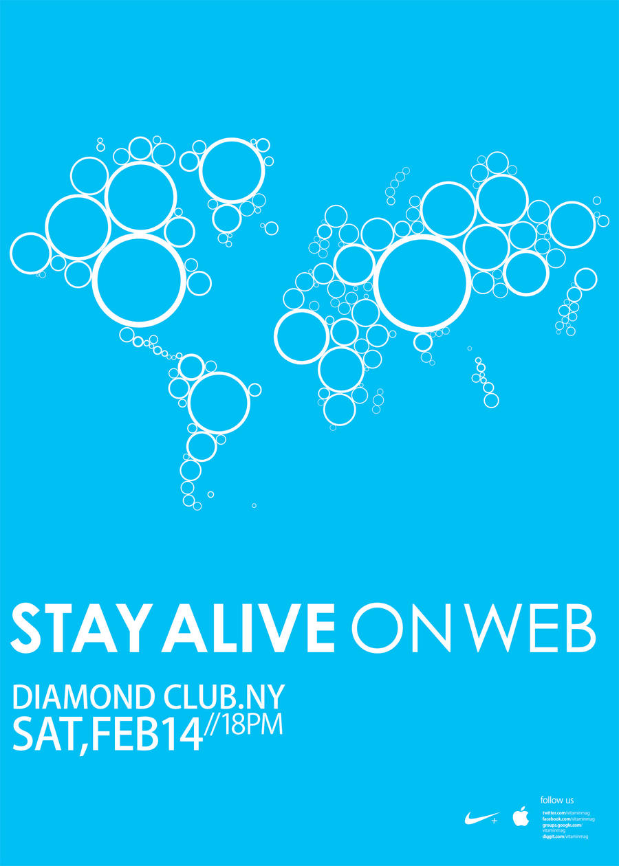 Stay Alive on Web by Vahitman