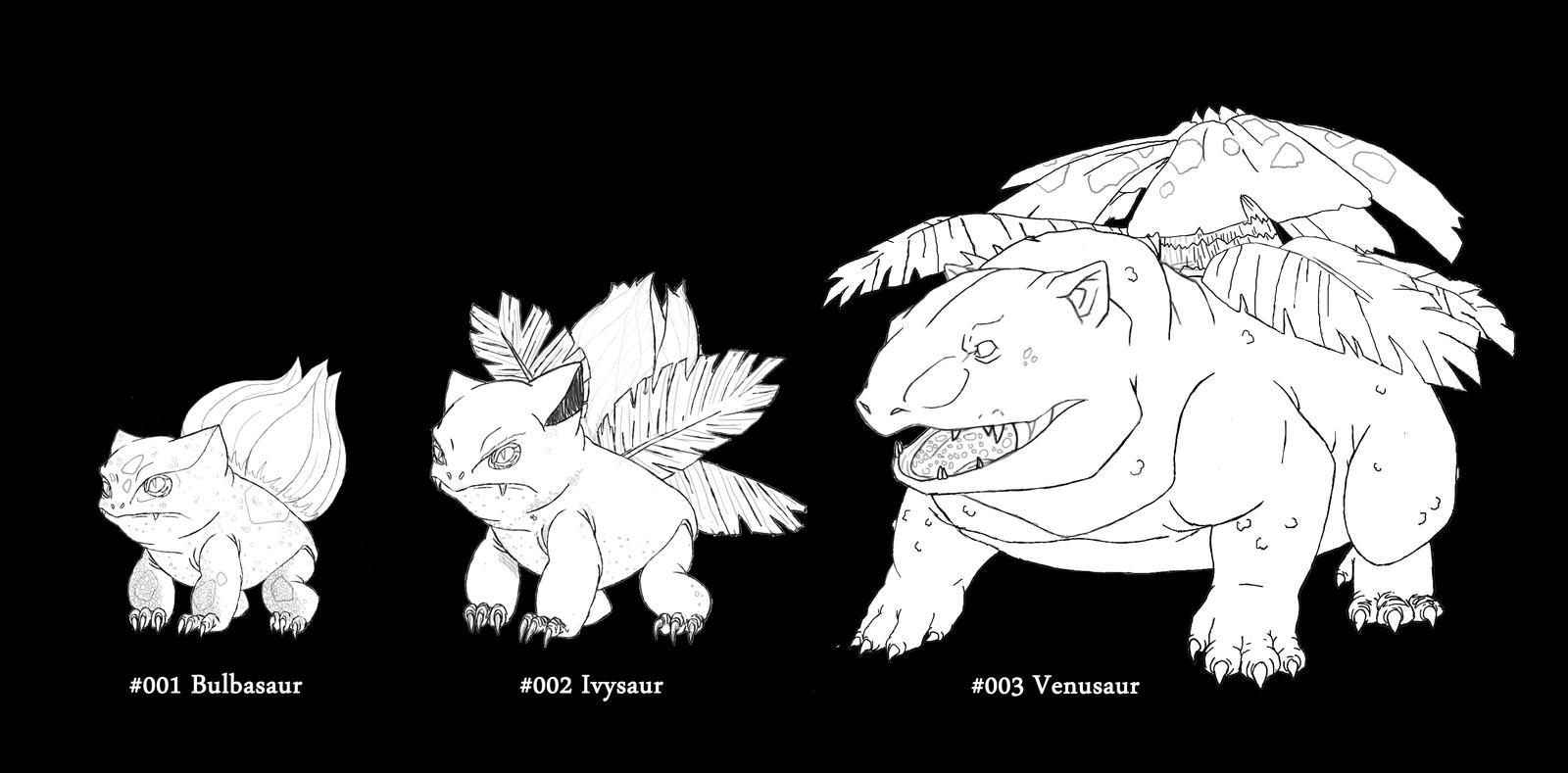 Bulbasaur Evolution Chart Bulbasaur Evolution Wa...