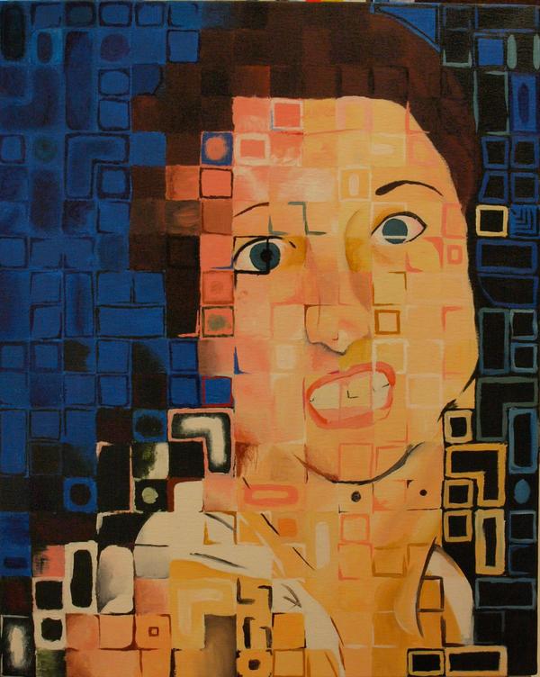 self portrait by kireinabara
