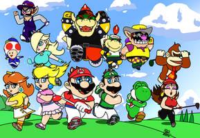 Mario Golf Super Rush by kei4dan