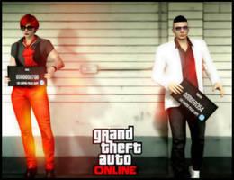 My Characters in GTA Online by saifbeatsart