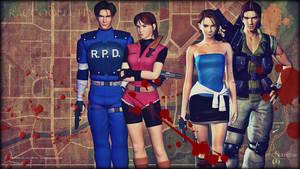 Resident Evil Raccoon City Heros by saifbeatsart