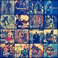 Games Collage by saifbeatsart