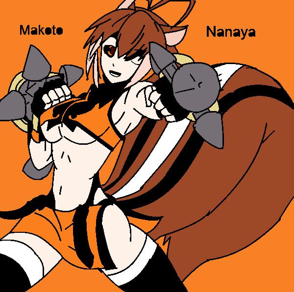 Makoto nanaya by casshern99