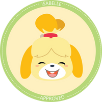 Isabelle Approved Seal by sugarbee908