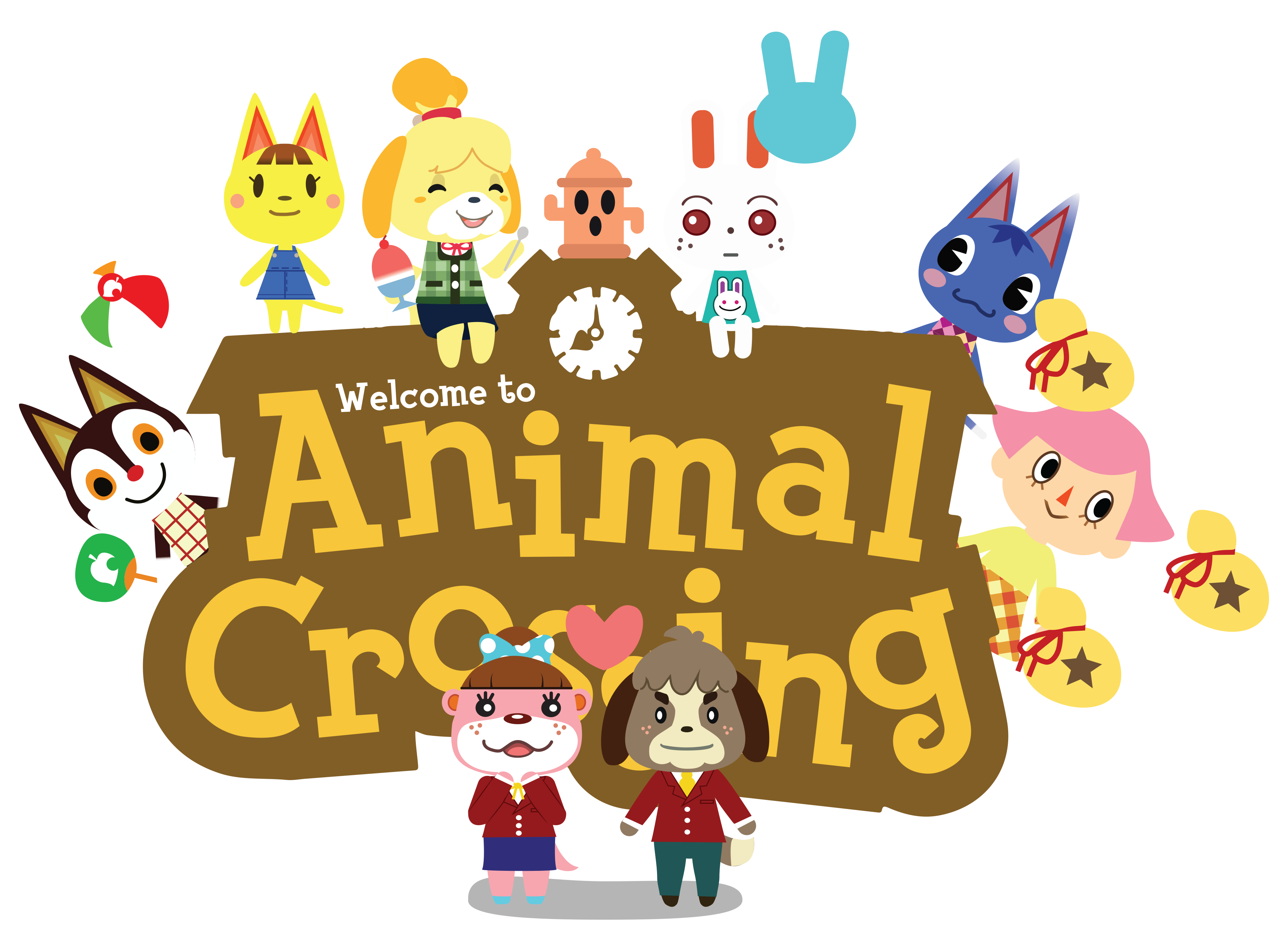 Animal Crossing Logo Art by sugarbee908 on DeviantArt