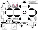 Cony from LINE Cubeecraft