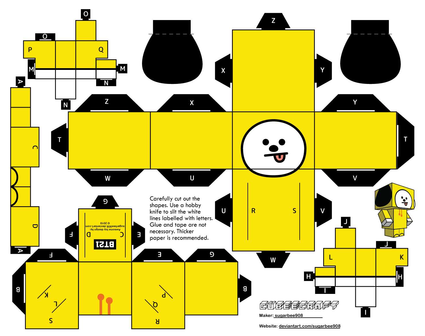 Chimmy Bt21 Cubeecraft By Sugarbee908 On Deviantart Stream tracks and playlists from chimmy on your desktop or mobile device. chimmy bt21 cubeecraft by sugarbee908