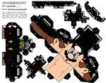 Custom Mario (Super Mario) Cubeecraft by sugarbee908