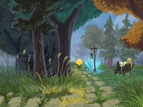 Background practice (Dota 2)