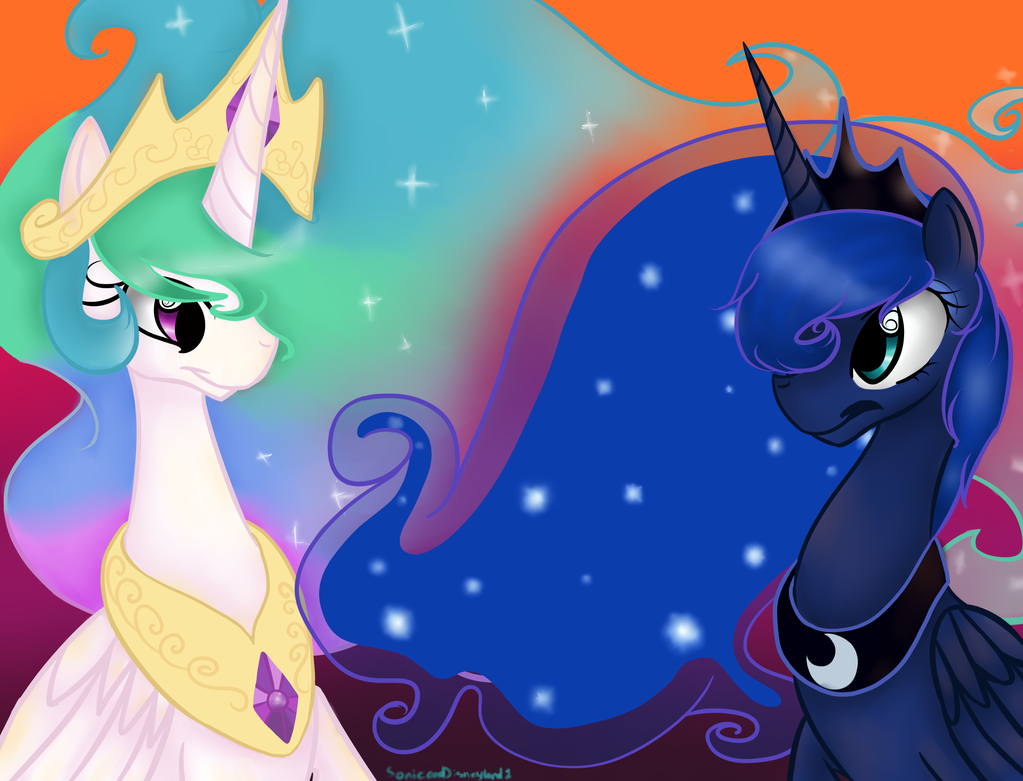 A Royal Sunset by SonicandDisneyland1