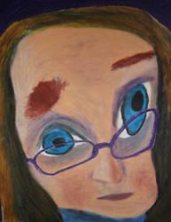 Self Portrait No.1 by snowcone666