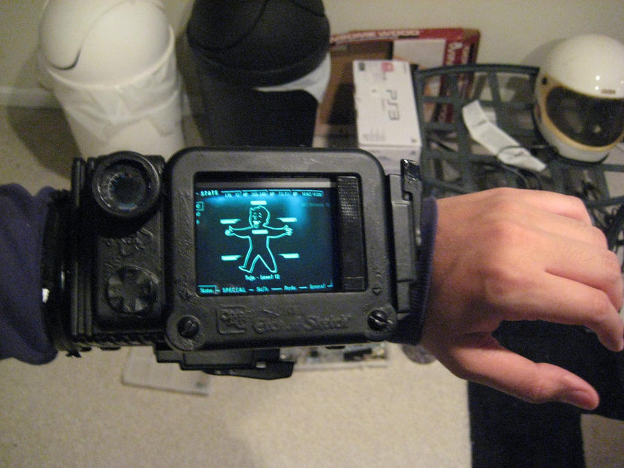 iphone pip boy home made pipboy 3000 2 by tujothepanda on deviantart 8453
