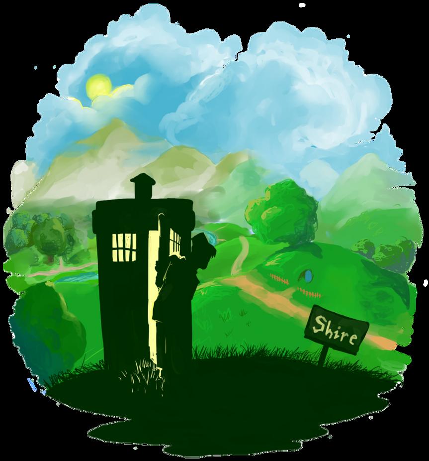 Doctor Who/Hobbit by KooBearBlog