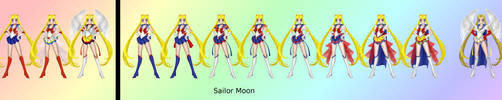 Sailor Moon - SailorXv2 by Katieline
