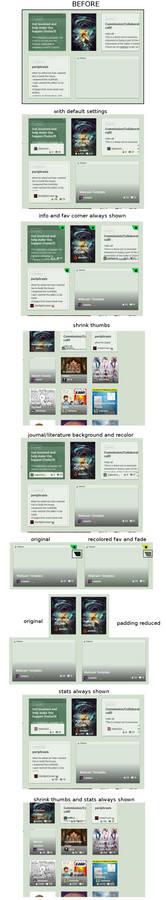 Stylish: Customize DA thumbnails 1.0.1