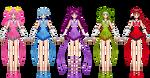 Kiragi's team by Katieline