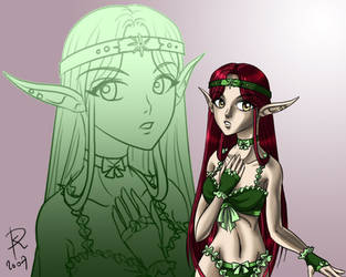 Random elf girl by Sirtaki