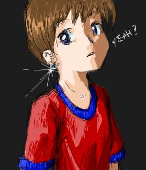 Boy with a Pearl Earring by Sirtaki