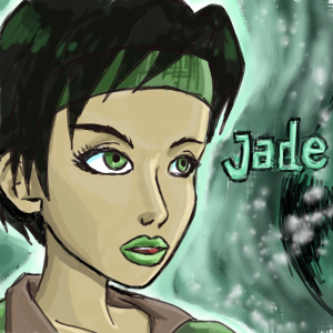 Jade from Beyond Good and Evil by Sirtaki