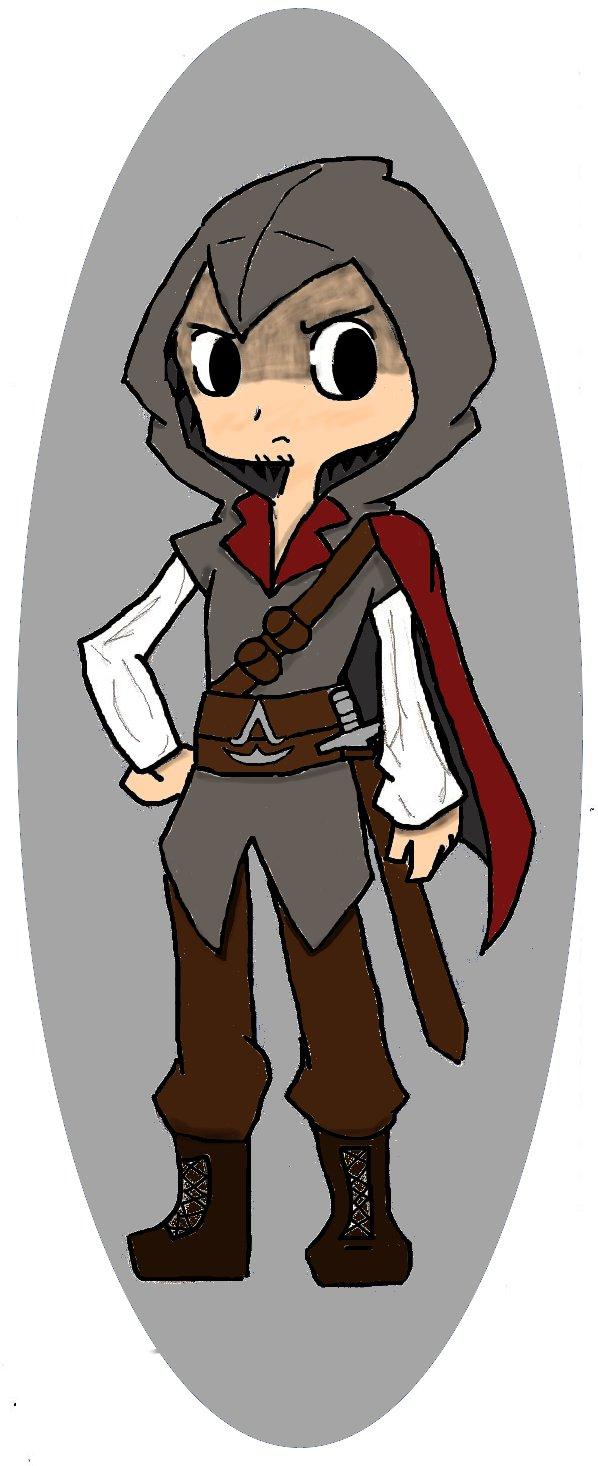 Ezio Auditore - My Western Style by chibidood