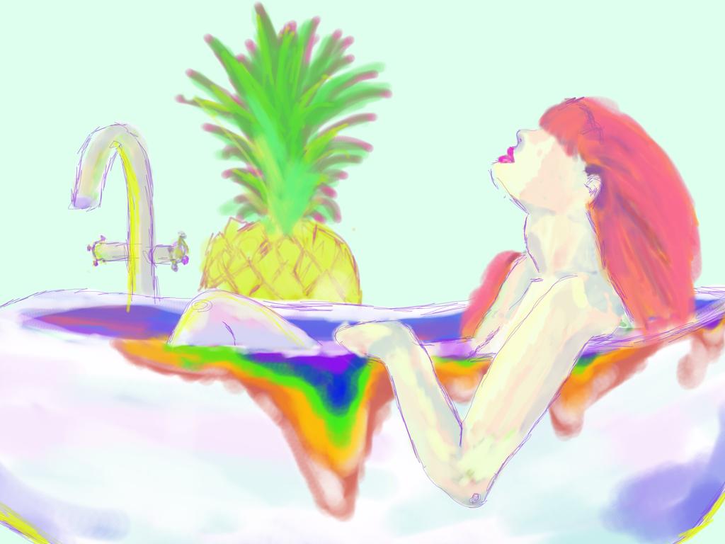 Bathing in colors by EloiseLeroux