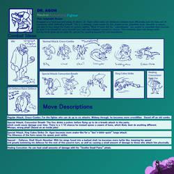 Terrain of Magical Expertise: Dr. Agon Moveset