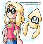 You're A Squid You're A Kid By JamesmanTheRegenold