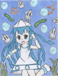 Squid Girl by Ronald0912