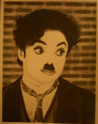 MJ as Charlie Chaplin Part 2