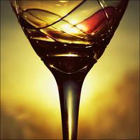 sun, wine by orbatid
