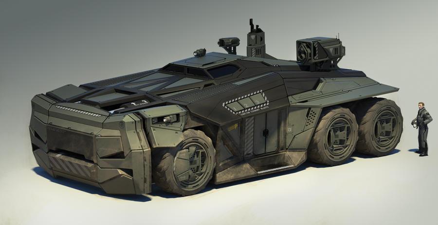 Heavy Transport by scoro5