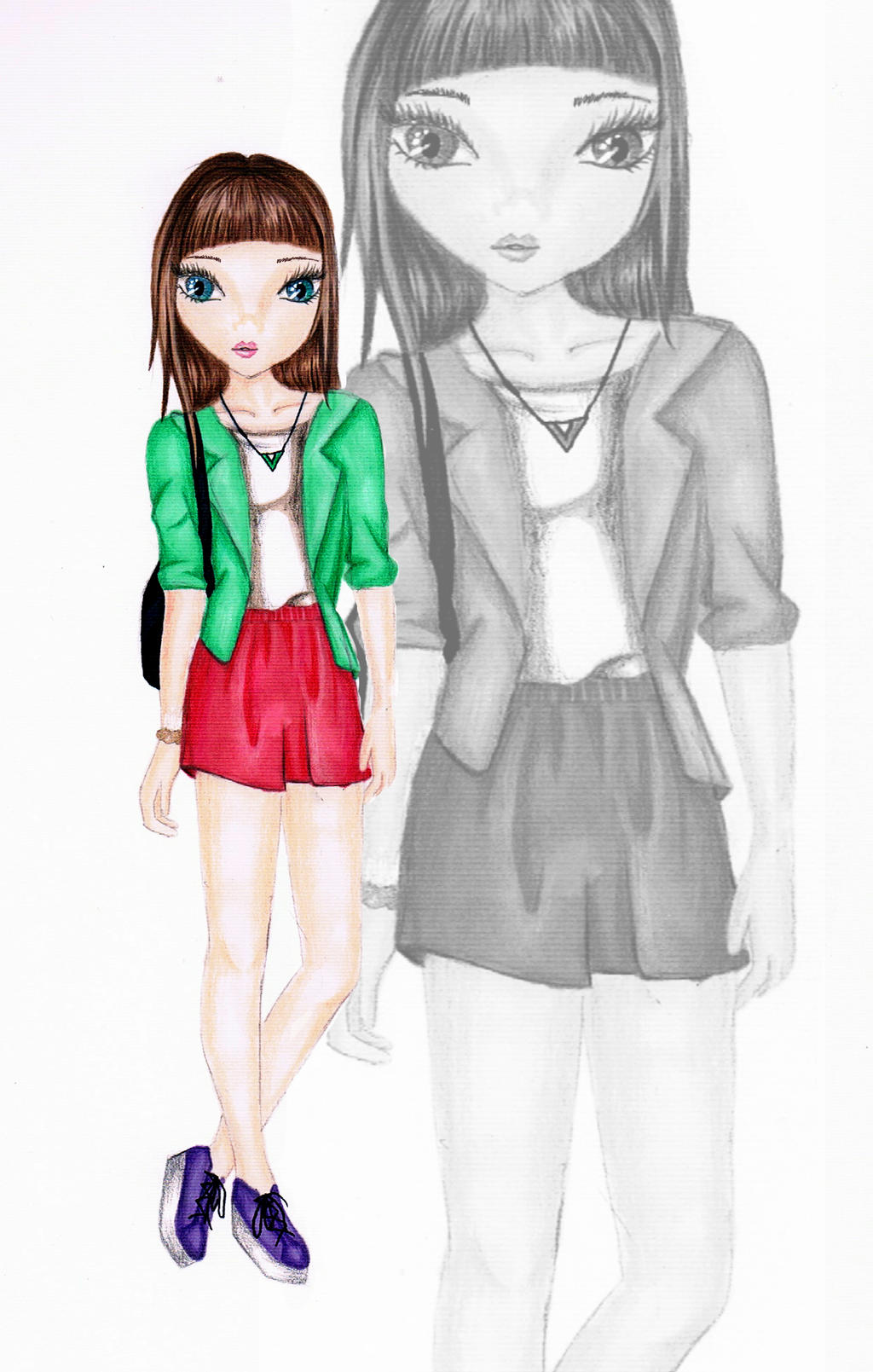 Topmodel Cute Outfit By JollyFashion On DeviantArt