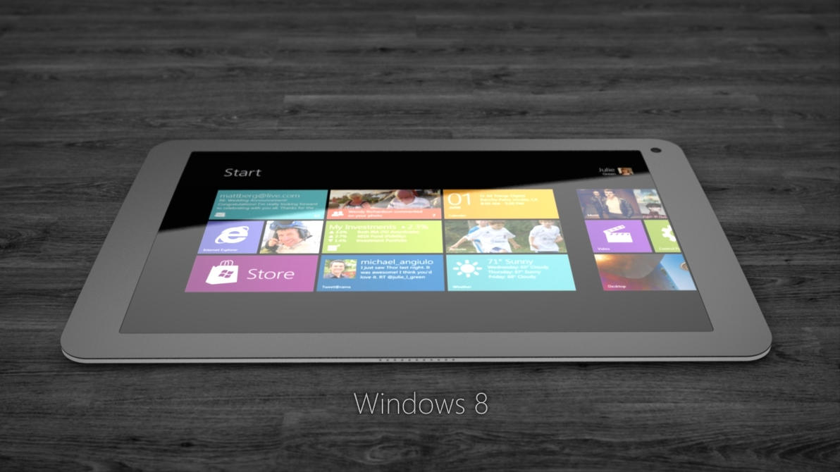 Windows 8 ARM Tablet by Jonas-Daehnert