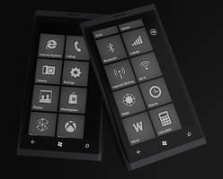 Windows Phone 7 Carbon Style by JonDae