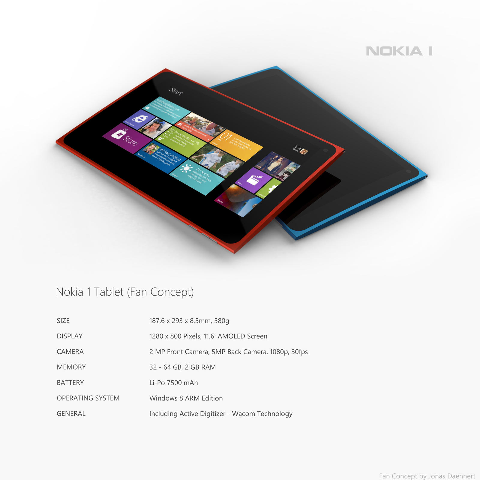 Nokia 1 Tablet