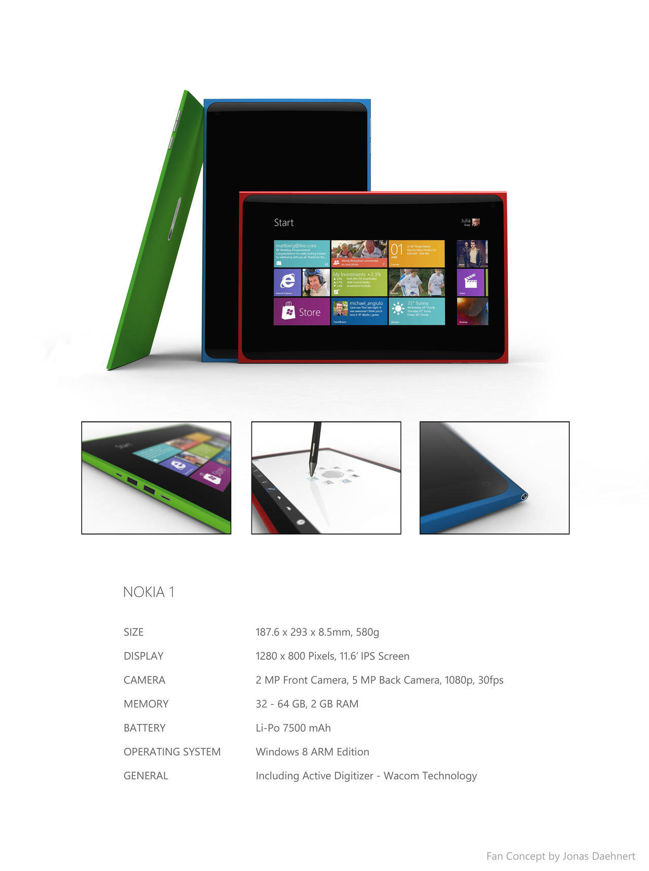 Nokia 1 Tablet (p2) by Jonas-Daehnert