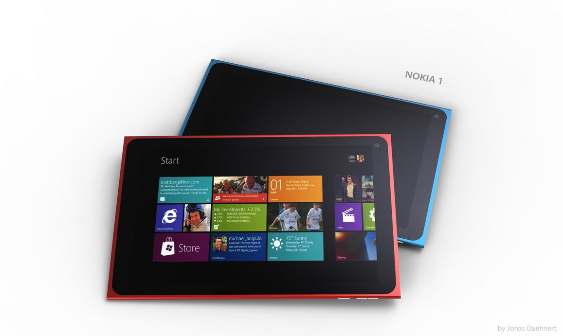 Nokia 1 Tablet (p3) by Jonas-Daehnert