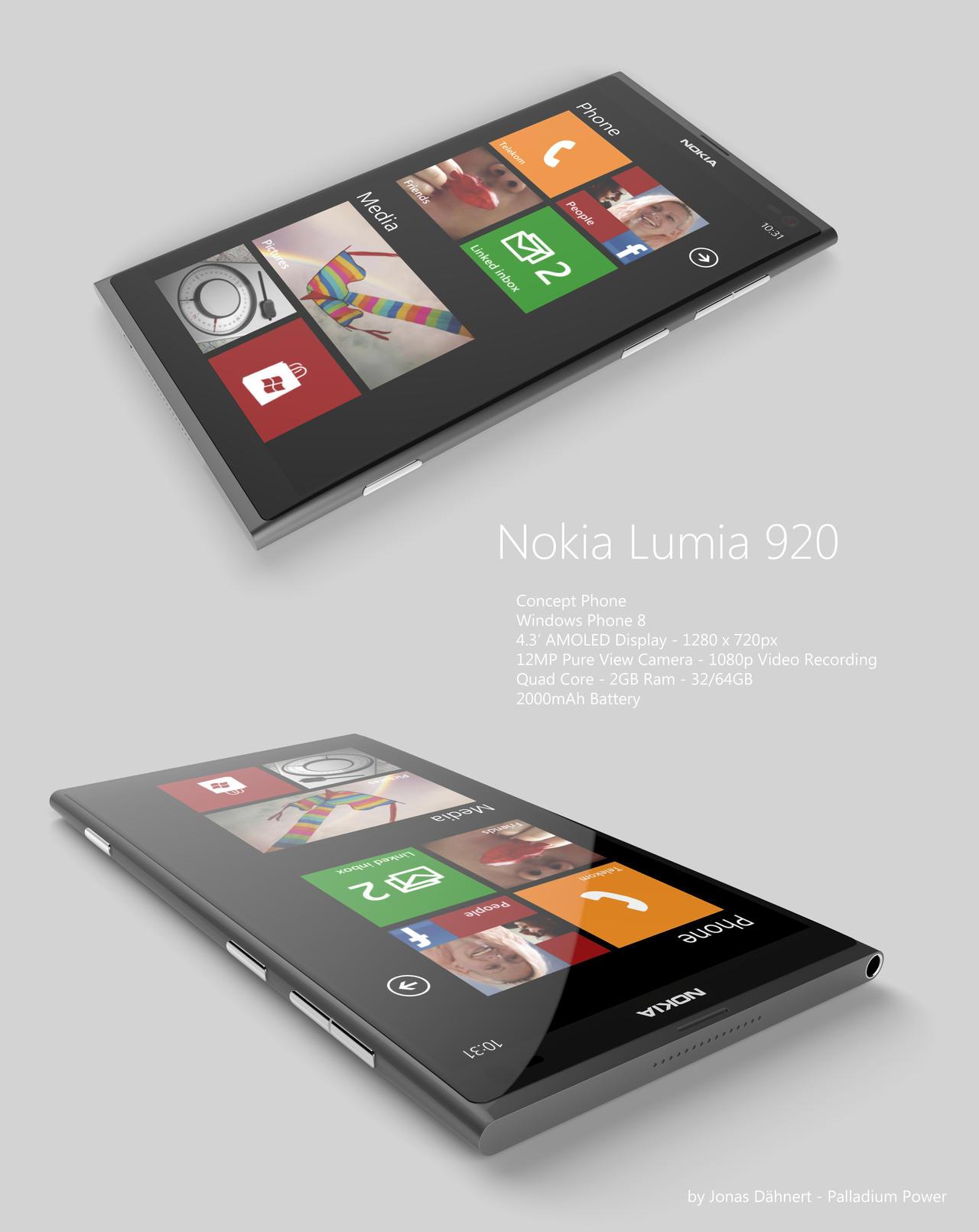 Nokia Lumia 920 Windows Phone 8 by Jonas-Daehnert